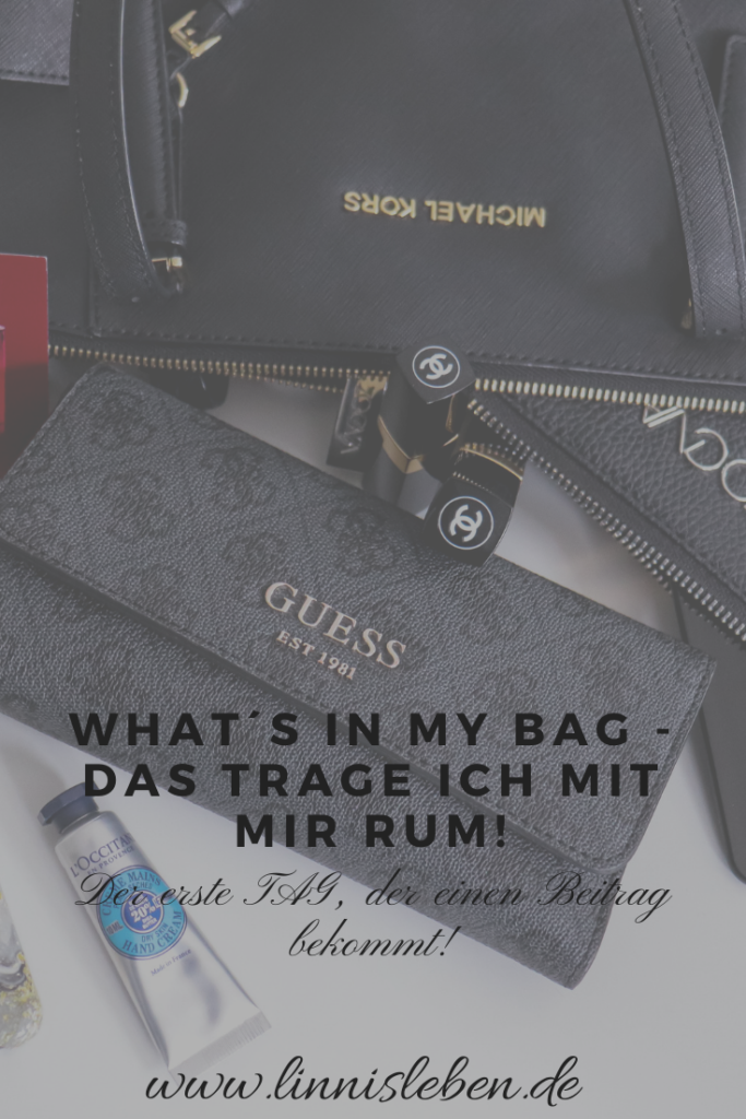 What´s in my bag - Pinterest