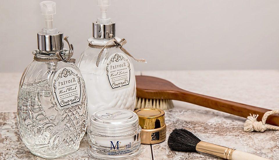 Hautpflegeroutine
