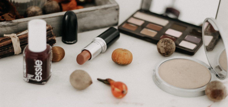 Herbstliche Beautyprodukte